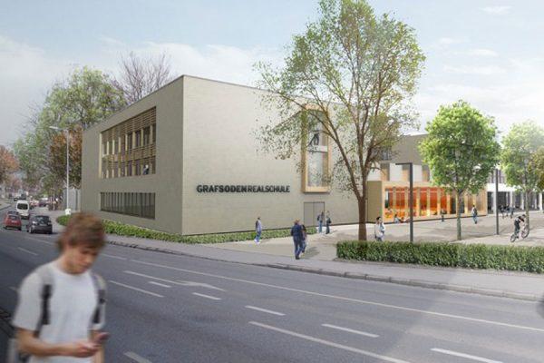 Baubeginn Graf-Soden-Realschule