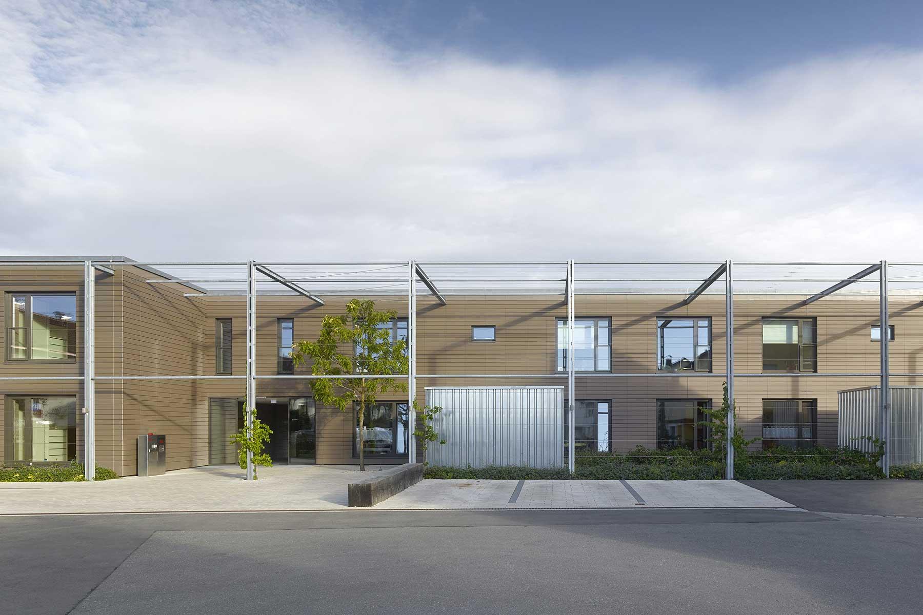 Wohnheim Für Menschen Mit Behinderung Aldinger Architekten