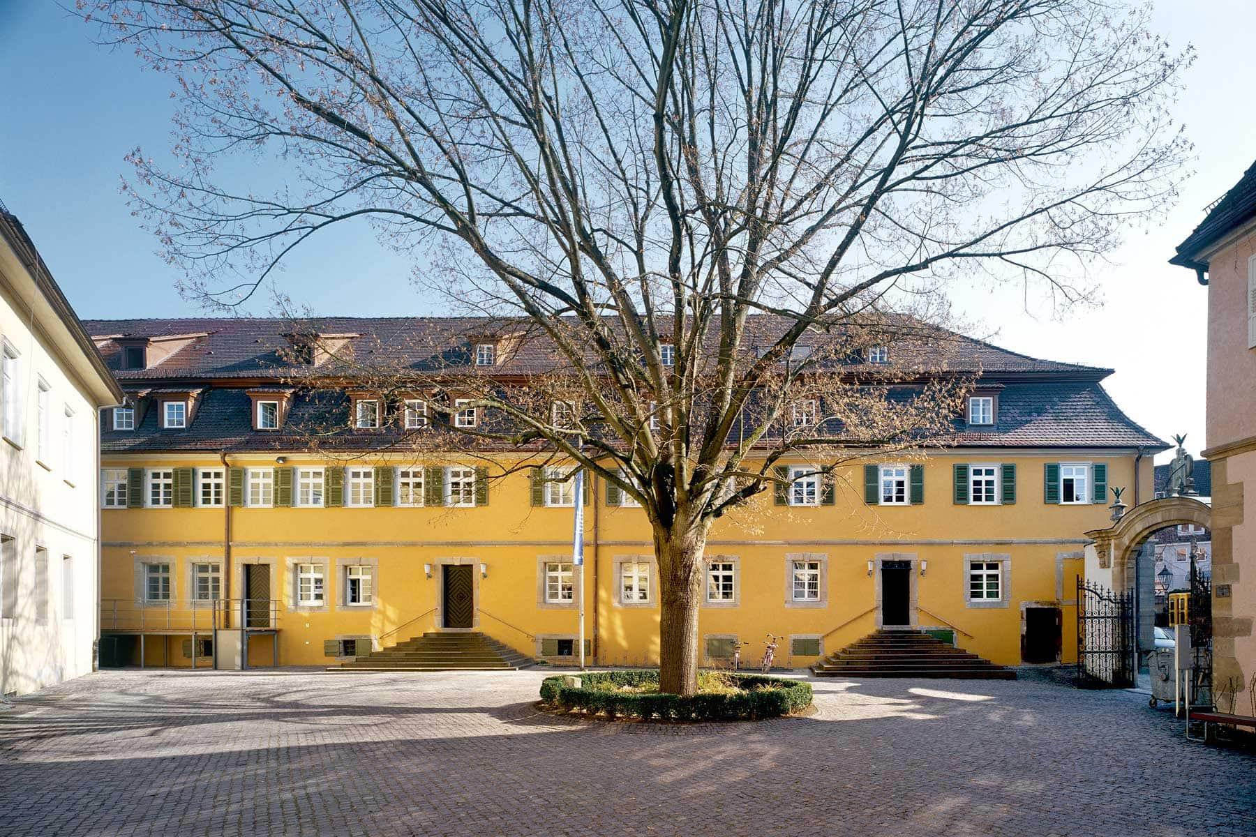Innenhof Hochschule, Nürtingen