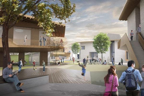Waldorfschule luxemburg aldinger architekten - Architekten luxemburg ...