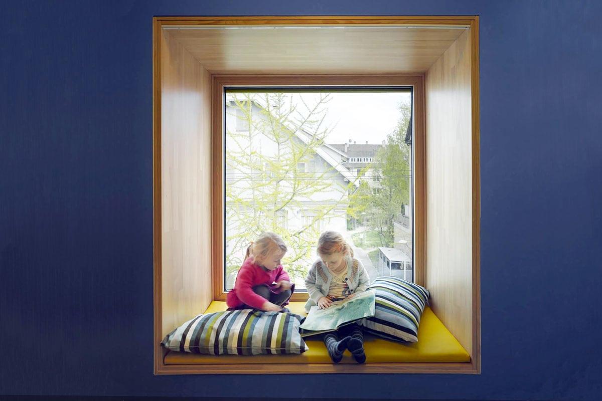 haus des kindes in laupheim aldinger architekten. Black Bedroom Furniture Sets. Home Design Ideas