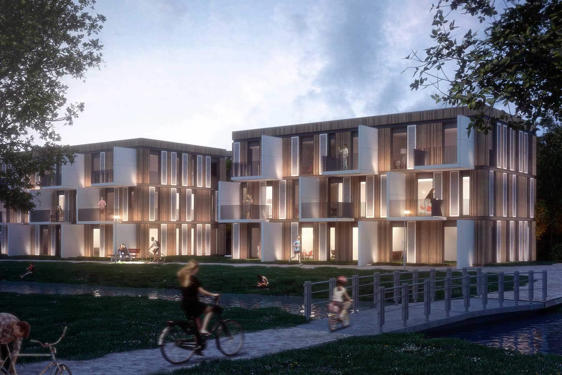 WohnRaum für alle: Innovatives Bausystem in Hybridbauweise ...