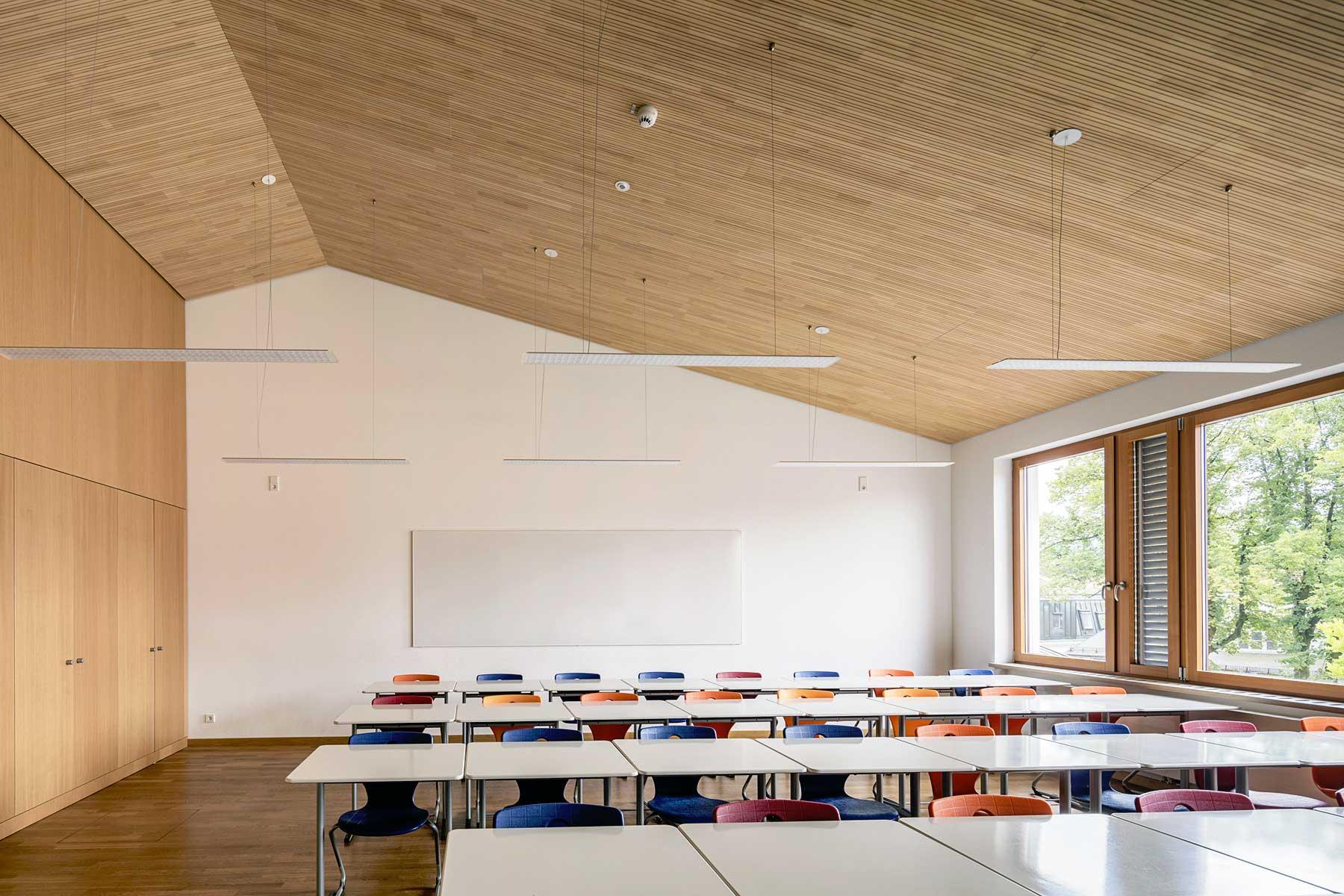 Realschule Prien Klassenraum