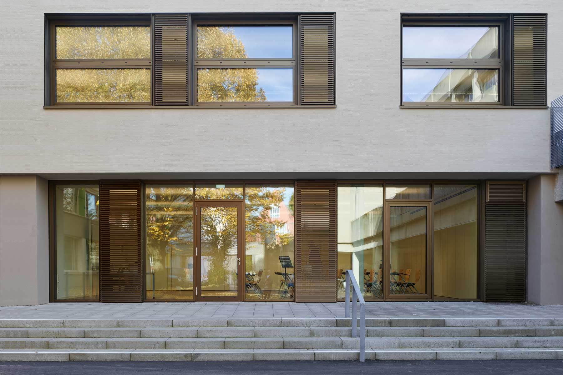 Friedrich-List Schule, Ulm – Fassade