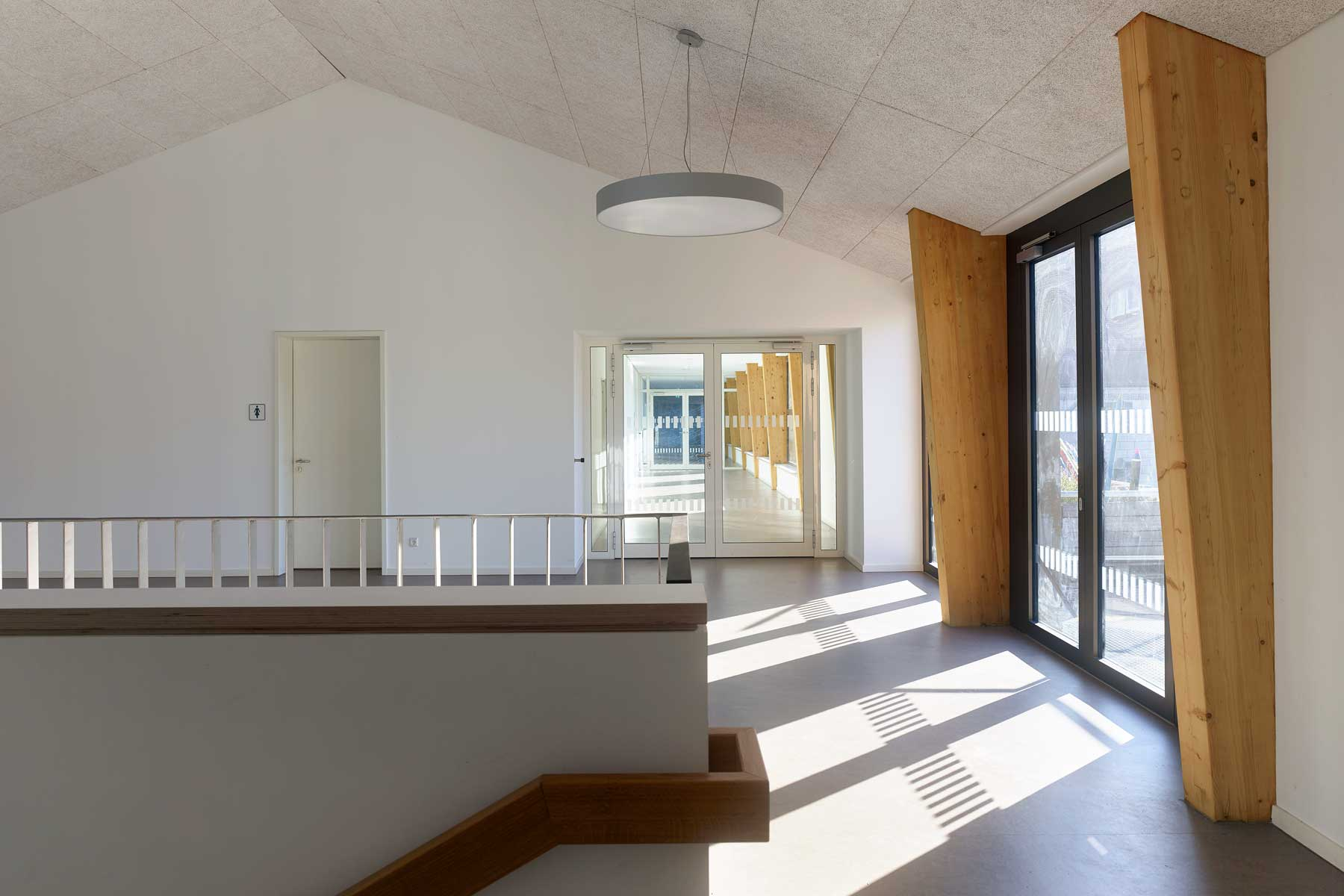 Friedrich-List Schule, Ulm – Treppenhaus
