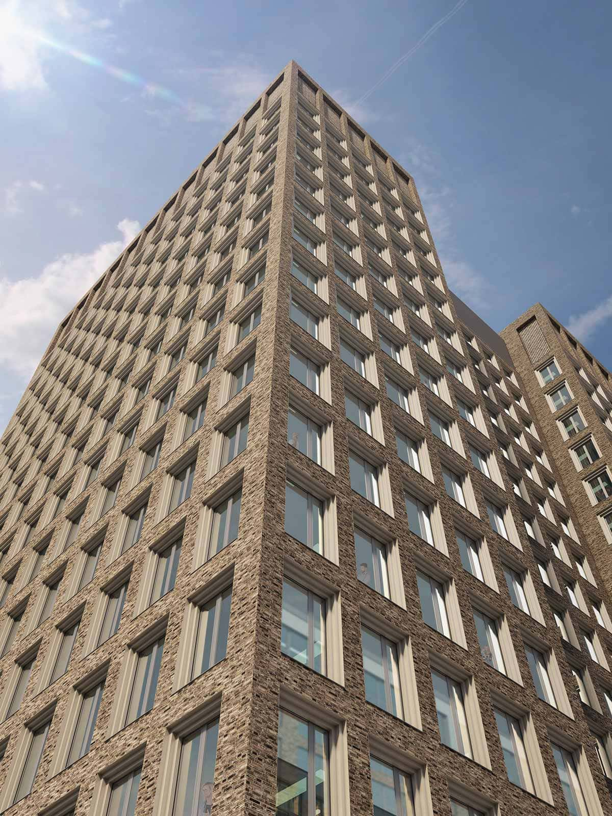 kraftvoller entwurf aldinger architekten gewinnen gestaltungswettbewerb db tower in frankfurt. Black Bedroom Furniture Sets. Home Design Ideas