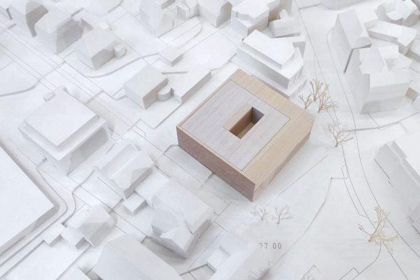 Neubau Rathaus Laupheim / 3. Preis Aldinger Architekten