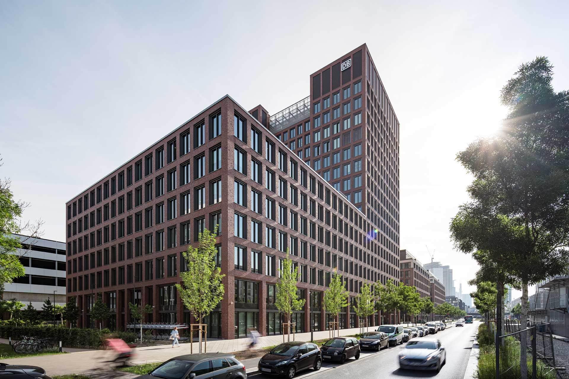 Deutsche Bahn Tower, Fassade, Aldinger Architekten