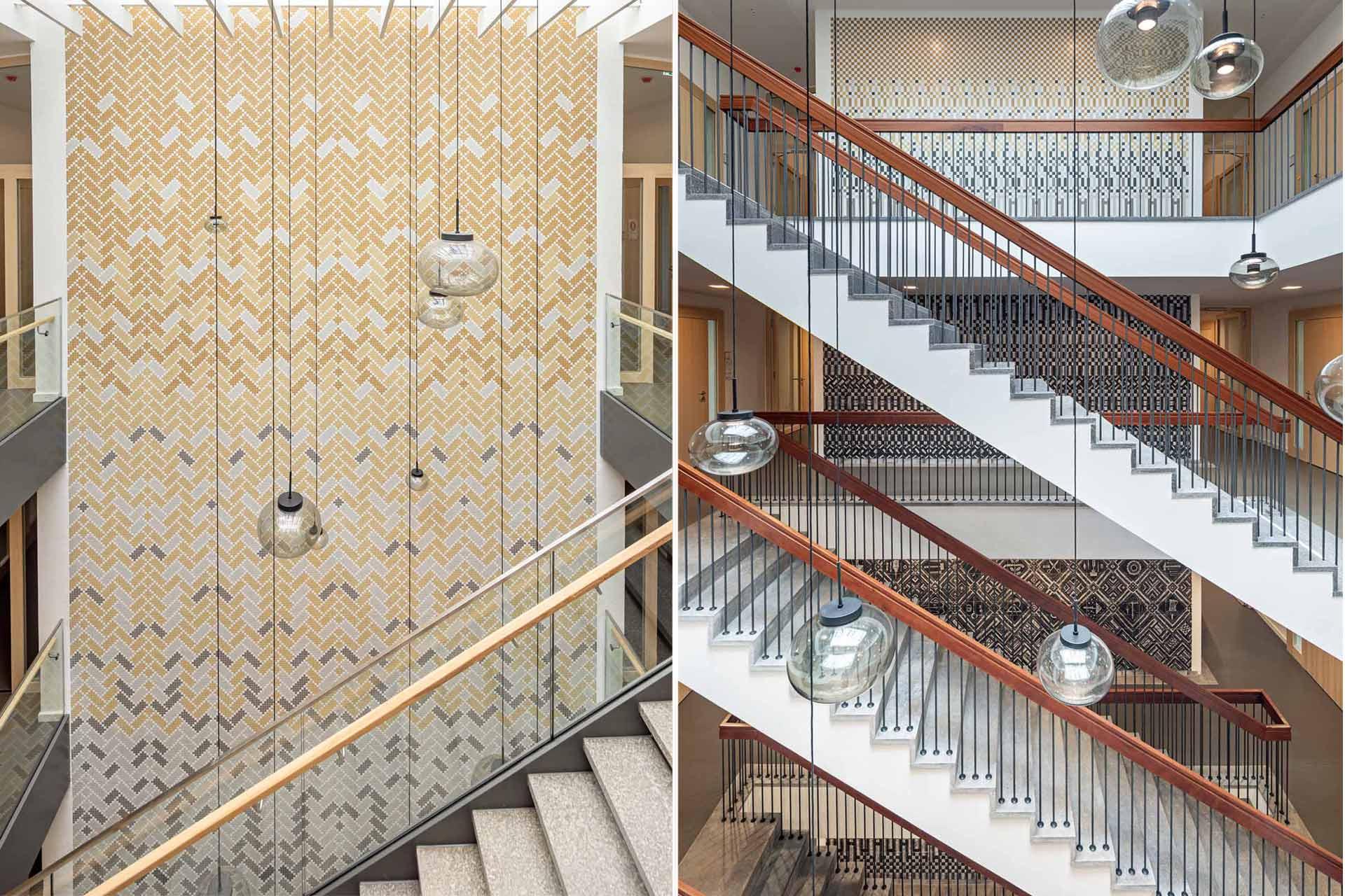Jugendamt Rosenheim Aldingerarchitekten Treppenhaus und Aufgang