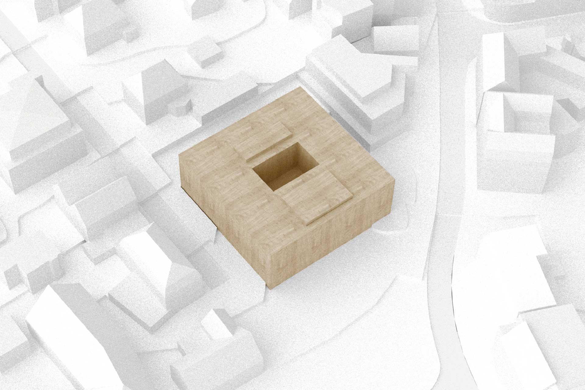 Modell Rathaus Laupheim