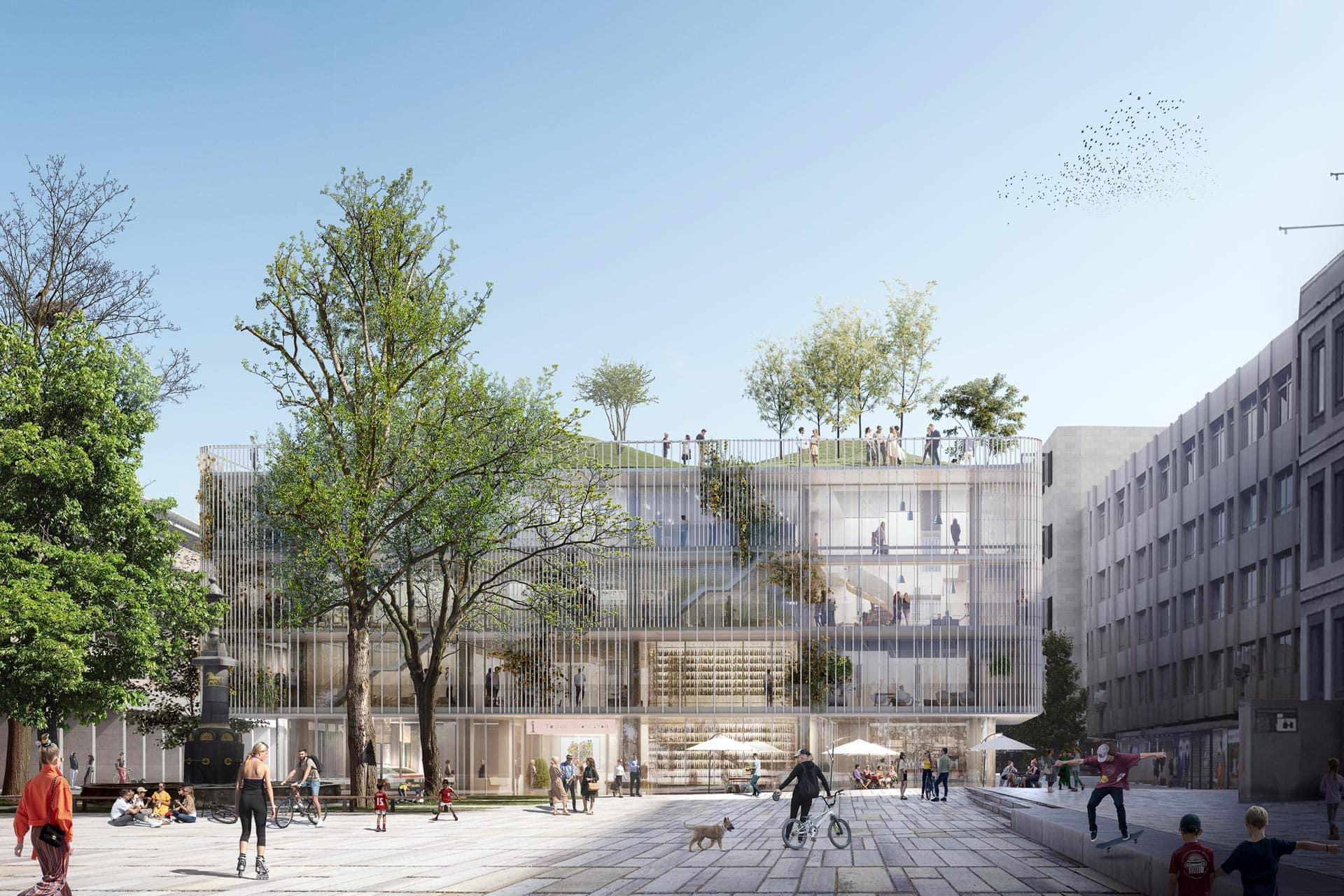 Haus des Tourismus in Stuttgart, Aldinger Architekten