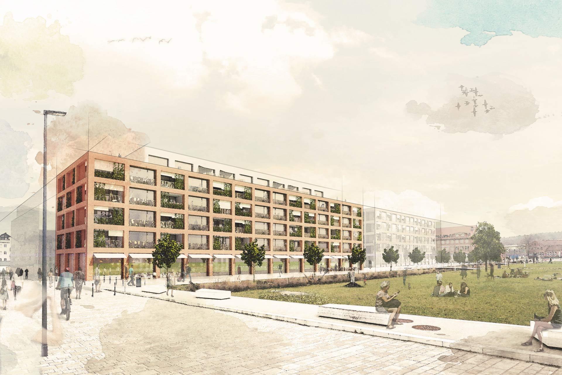 Q5 - Soziales Wohnen am Neckarpark, Aldinger Architekten