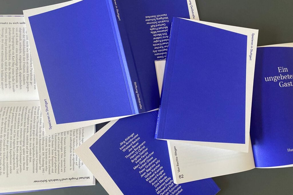"""Essay von Jörg Aldinger im Buch """"Spazieren in Stuttgart"""""""